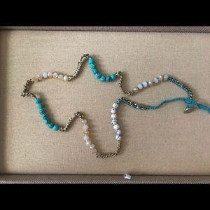 Chloe+Isabel Bead+Chain Multi-wrap Bracelet